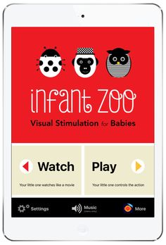Infant Zoo is an app that provides visual stimulation for babies. The high contrast shapes, colors, and patterns are perfect for holding your young childs' attention and encouraging focus. This app suits all babies and young children. I will discuss in the review how it can also benefit little ones with Sensory Processing Disorders, Autism, hyperactivity, and more. #touchautism #infantzoo #babyapp
