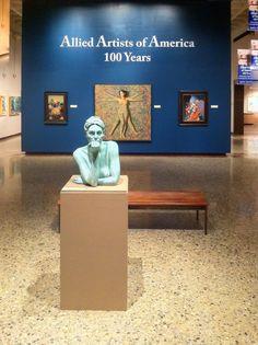 Patinated Bronze cast. Canton Museum of Fine Arts.  Canton, Ohio.