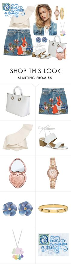 """Once upon a time"" by glitterlady4 ❤ liked on Polyvore featuring Versace, Gucci, Isabel Marant, Tahari, Too Faced Cosmetics, Michael Kors, Tory Burch and Once Upon a Time"