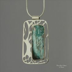 """Opal wing Creations   Name: """"Enchanted"""" Materials: Sterling silver, Peruvian opal"""