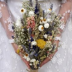 Festival Meadow Bridesmaid Bouquet