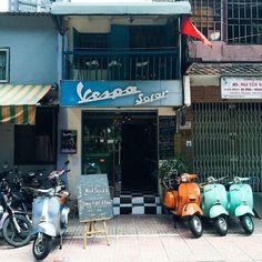 Khám phá những quán xe cổ ở Sài Gòn