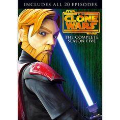 Star Wars: The Clone Wars - The Complete Season Five [4 Discs]