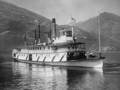 SS Slocan on Slocan Lake Canadian Pacific Railway, Boat Plans, British Columbia, Paddle, Lakes, Coast, Ships, Canada, Backyard