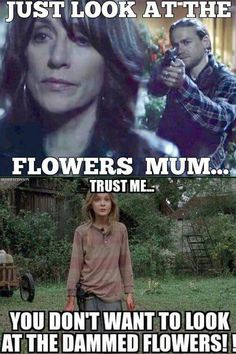 Look at the flowers - Sons of Anarchy - The Walking Dead - Funny