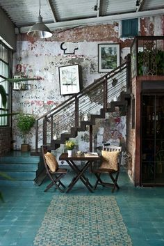 Gorgeous patterned and solid-colored cement tile floors!