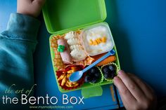 The Art of the Bento Box... School lunches are an important part of education.  Kids should be well nourished so their brain functions properly.  That can't be done if you fix lunches they don't eat!  Small potatoes recommends you try a bento box lunch!