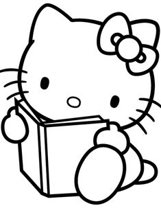 Bright Pink Hello Kitty Poster