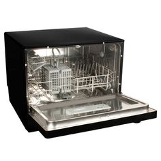 Countertop Dishwasher in Black