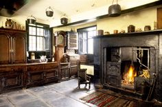 The Townend kitchen of the yeoman farmhouse at Troutbeck, Cumbria  | National Trust Images