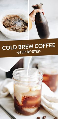 Start cold-brewing your own coffee for the best iced coffee ever! This easy step… Start cold-brewing your own coffee for the best iced coffee ever! This easy step-by-step recipe tutorial makes cold-brew iced coffee in 12 hours! Diy Cold Brew Coffee, Cold Brew Coffee Recipe, Best Iced Coffee, Coffee Coffee, Iced Coffee Recipes, Thai Coffee, Coffee Bags, Easy Coffee, Coffee Truck