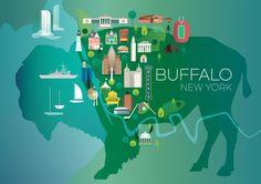 BUFFALO, BUFFALO, NEW YORK POSTER