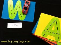 busy bag activities:  toddler activities, elementary student activities---on level, below level, above level, special needs
