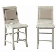 Farmhouse Dining Chairs at Lowes.com Farmhouse Dining Chairs, White Dining Chairs, Upholstered Dining Chairs, Dining Chair Set, Side Chairs, White Chests, Buy Chair, Chair Types, Salvaged Wood