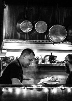 Chefs at work at Bacchus in Richmond VA | Broad Appetite