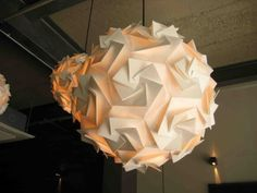 origami light #OrigamiLamp