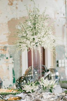 troon north golf wedding reception | Shipped in are Outdoor Weddings in South Carolina foliage in the ...