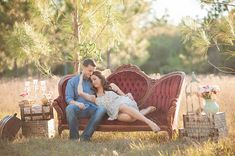 romantic vintage engagement | Best Photography