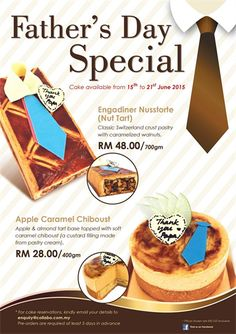 15-21 Jun 2015: Ficelle Boulangerie Patisserie Fathers Day Special Promotion