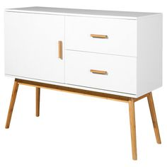 Complete your living room or hallway with this sideboard, featuring a contemporary design. It's perfect for stowing away games and puzzles and displaying fre. Stow Away, Tv Unit, Sideboard, Contemporary Design, Nightstand, Drawers, House Design, Cabinet, Living Room