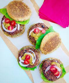 Superfood Beet Burgers