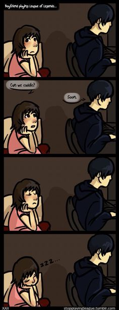 Has happened many times... Me and Doll (I think I'm in love with a derp, comic)