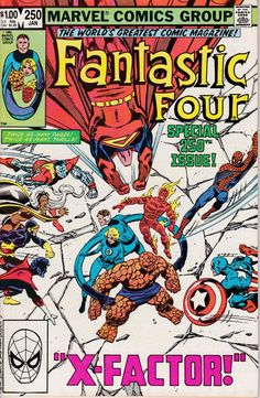 Fantastic Four 250  January 1983 Issue  Marvel by ViewObscura