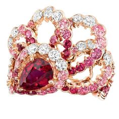 Milieu du Siecle ruby ring by Dior Joaillerie