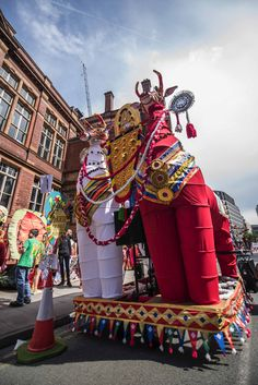 Manchester Day 2019 - Manchester Malayalee Association parade piece.