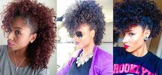 Ta Na Moda:Penteado Moicano no cabelo crespo - Garota Crespa