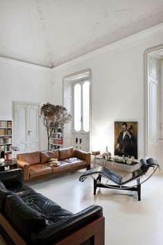 Wohnzimmer - Wohnzimmer - altbau Wohnzimmer - - New Ideas Eclectic Living Room, Living Room Designs, Living Room Decor, Living Spaces, Bedroom Decor, Living Rooms, Home Interior Design, Interior Architecture, Interior Decorating