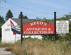 Antiquing In Maine, USA