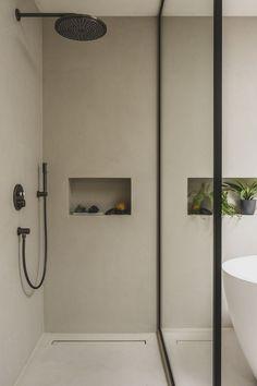 Minimalist Bathroom, Modern Bathroom, Master Bathroom, Wc Design, House Design, Bathroom Design Inspiration, Tadelakt, Austin Homes, Bathroom Design Luxury