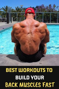 Best Workouts To Build Your Back Muscles Fast fitness gym Back workout fit Muscle is part of Back workout bodybuilding - Back Cable Workout, Dumbbell Back Workout, Back Workout Men, Workout Plans, Bicep Muscle, Muscle Men, Back And Biceps, Back Muscles, Muscle Training