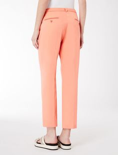 Cotton piqué trousers Weekend Maxmara