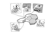 lucinahaven CEBRA Plan Concept Architecture, Collage Architecture, Architecture Exam, Architecture Portfolio, Architecture Diagrams, Landscape Architecture, Presentation Layout, Presentation Boards, Architectural Presentation
