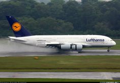 Lufthansa Airbus Photo by Ryotaro Shinozaki Airbus A380, Commercial Aircraft, Civil Aviation, Old Tv Shows, Aircraft Pictures, Aeroplanes, Concorde, Private Jet, Cabins
