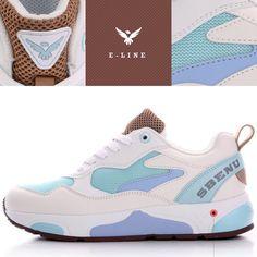 (SBENU) E-LINE CANDY CLAVY E(CL)-003WNB Men Womens Sneakers Running Shoes AOA IU #SBENUhellobincom #RunningFashionSneakersShoes
