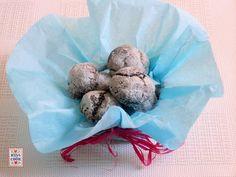 BISCOTTI  -  CHOCOLATE CRINKLES  -