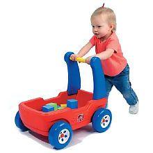 First Birthday Gift? Walker Wagon with Blocks $42.99