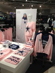 Love shopping here @ the games! Peace Love World Style Lounge in Dallas Cowboys Stadium