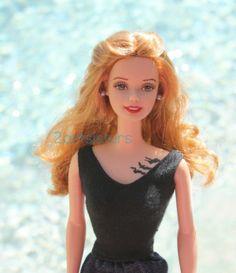 OOAK DIVERGENT TRIS Beatrice Prior DAUNTLESS Barbie Doll Repaint Tattoo Six