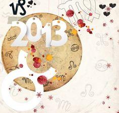 Ζώδια 2013: Διάβασε τις ετήσιες προβλέψεις για κάθε ζώδιο! Horoscope, Kids Rugs, Symbols, Concept, Letters, Seasons, Cards, Home Decor, Greeting Card