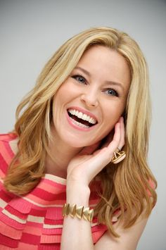 Official Face Character change. Elizabeth Banks is officially the face Character for Adina!!!