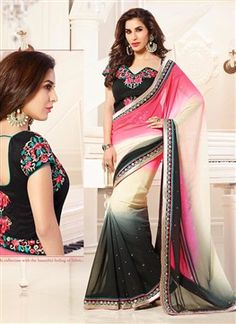 Multicolor Bollywood Designer Saree  PRODUCT CODE: FB0271 AVAILABILITY: In Stock  ₹ 3544.00
