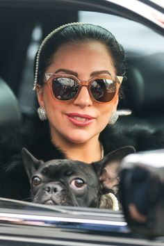 Gaga leaving her apartment in NYC. 12.22.14