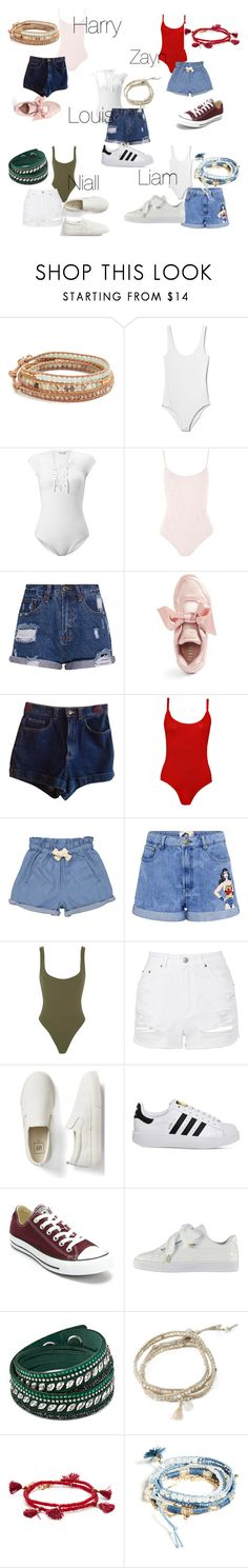 """Untitled #6"" by lisa-ferreira98 ❤ liked on Polyvore featuring Chan Luu, Gap, Miss Selfridge, Topshop, Puma, American Apparel, WearAll, Tootsa MacGinty, Paul & Joe Sister and Alix"
