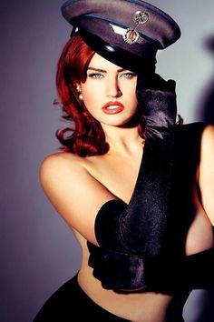 Gia Genevieve shares insights into her career, her body image issues, tips on becoming a pin up girl and more. Pin Up Girls, Gia Genevieve, Redhead Day, Costume Sexy, Cosplay, Redheads, Red Hair, Supermodels, Beanies
