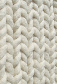 Braided Wool - 3D textile design with chunky textures; textiles surface creation