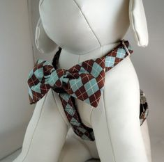 Dog Harness with Flower or Bow Tie Set  - WANT ONE FOR OTCHO <3
